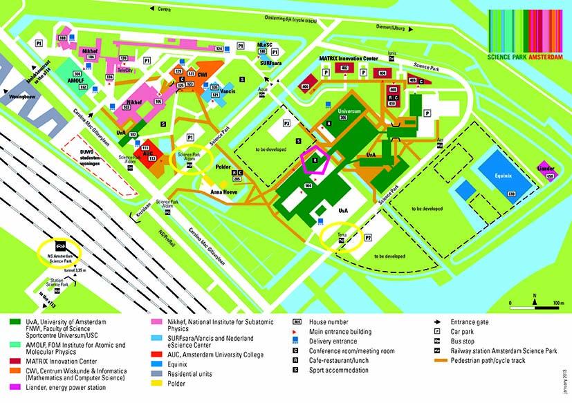 Scienceparkmap